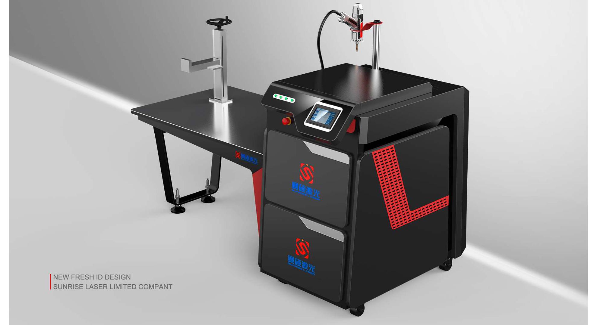 激光广告焊接机